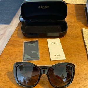 NWT Black Coach Sunglasses